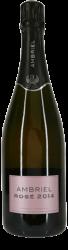 Ambriel Rosé Brut English Sparkling Wine 2014