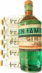 Benhams Gin Sæt, m/ 10 fl. 1724 Tonic