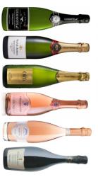 Champagne og mousserende smagekasse