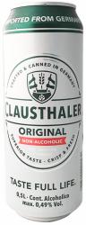 Clausthaler Original 0,5 l Dåse - 0,5 % Alkoholfri