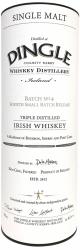 Dingle Single Malt Irish Whiskey Small Batch #4