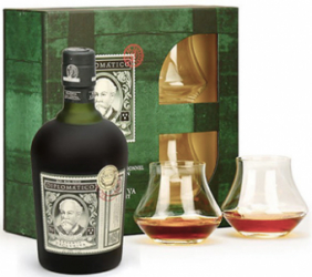 Diplomatico Rum Giftset PERFECT SERVED m 2 glas