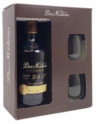 Dos Maderas Triple Aged Rum 5+5 med 2 glas