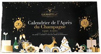 Champagnekalender fra G.H. Martel