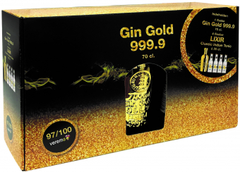 Gin Gold & Lixir Classic Indian Tonic - GIFT BOX