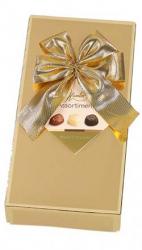 Hamlet Belgisk chokolade gaveæske guld