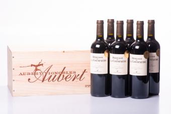 6 fl. Héritage de la Couspaude Castillon-Côtes de Bordeaux 2014 - i TRÆKASSE