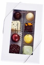 8 stk. Blandet Innovativ konfekt fra Aalborg Chokoladen