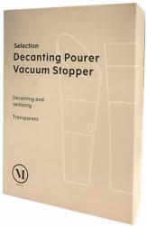 Menu Selection Decanting Pourer & Vacuum stopper