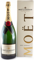 Moet & Chandon Champagne Brut Imperial MAGNUM i gaveæske
