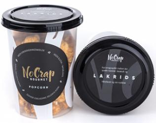 Lakrids Popcorn fra No Crap
