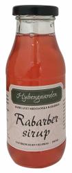 Rabarber sirup fra Hybengaarden