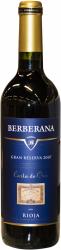 Berberana Gran Reserva 2007 Carta de Oro Rioja
