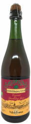 Val de France Organic Sparkling Juice Rasberry - 0,0 % Alkoholfri