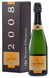 Veuve Clicquot Champagne Vintage 2008 i gaveæske